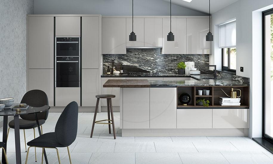 Kitchen A42 Porter Silver