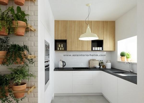 Kitchen A37 Oak wood - Asia Interior Halim.