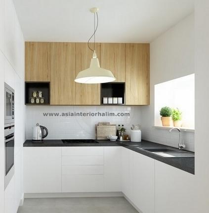 Kitchen A37 Oak wood - Asia Interior Halim