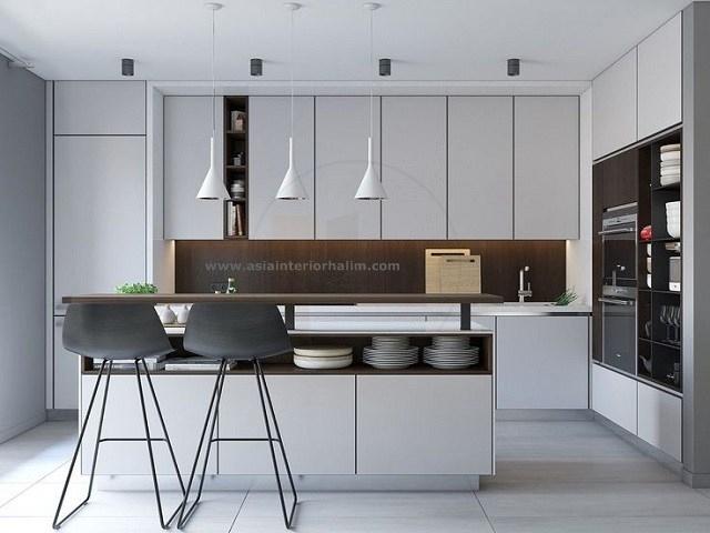 Kitchen A43 White - Asia Interior halim