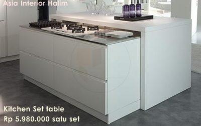 Asia Interior Halim, Kitchen set and table1